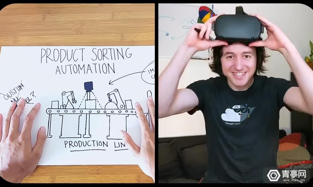 VR也可以这么玩?谷歌科研人员在VR中训练AI