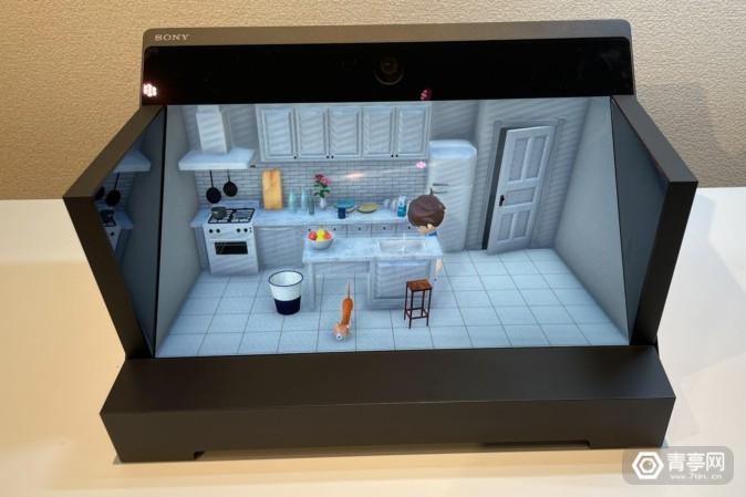 揭秘:索尼3D显示屏ELF-SR1诞生背后