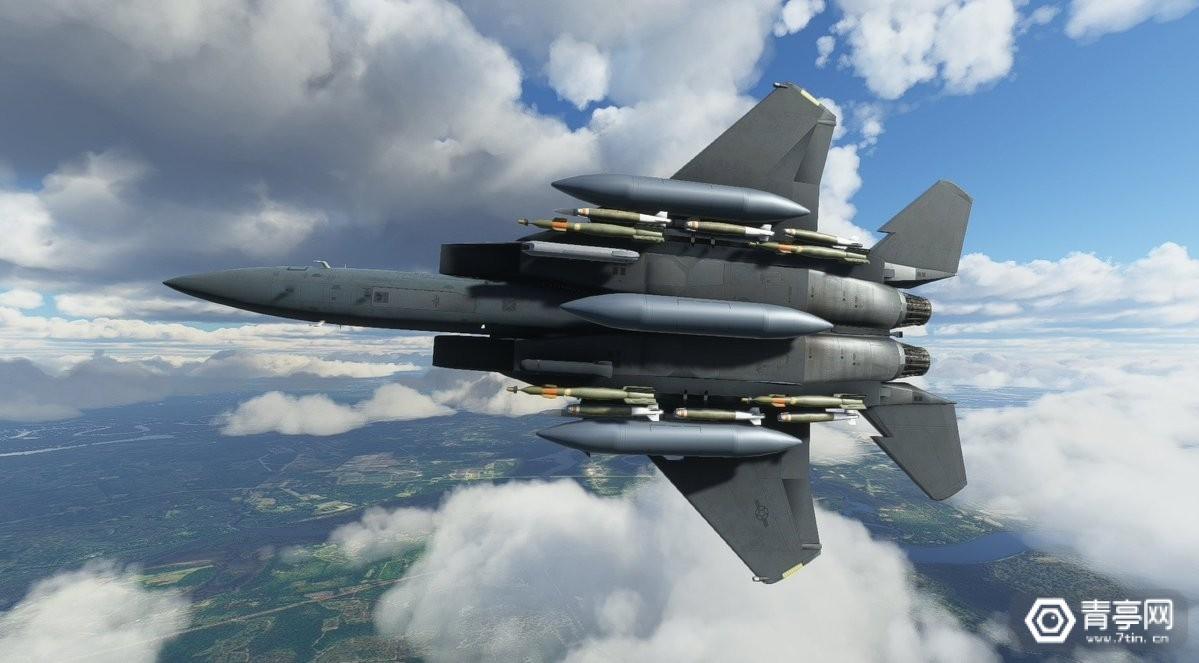 《微软飞行模拟》即将加入F-15战斗机