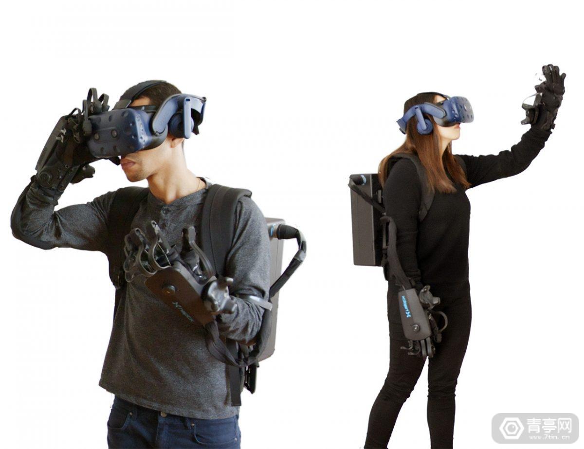 最大可模拟40磅阻力,HaptX发布升级版VR体感手套DK2