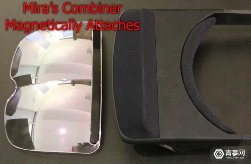 Miras-magnetically-attached-combiner