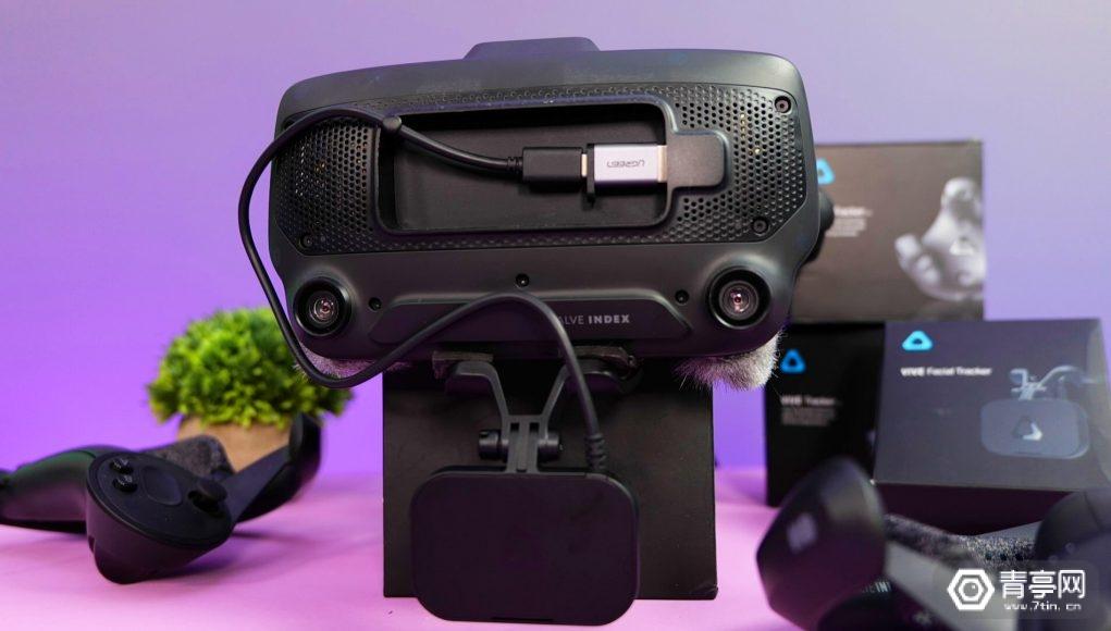 Vive面部追踪模块或兼容Index等PC VR,但效果难保证