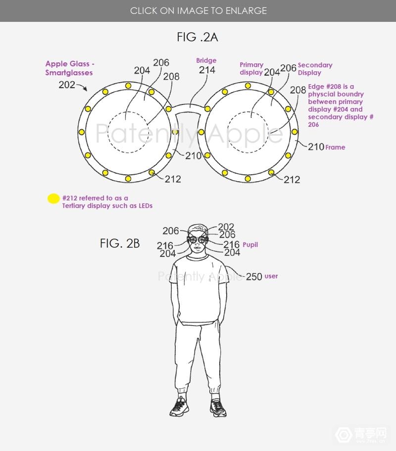 苹果ARVR显示专利:主要和次要双屏幕组合设计 (5)