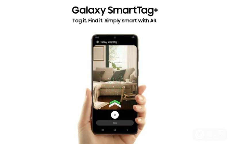 带UWB、可用AR追踪,三星Galaxy SmartTag+