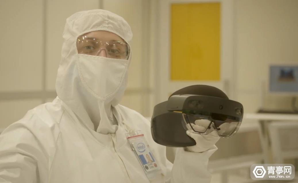 英特尔爱尔兰工厂基于HoloLens 2进行远程协助