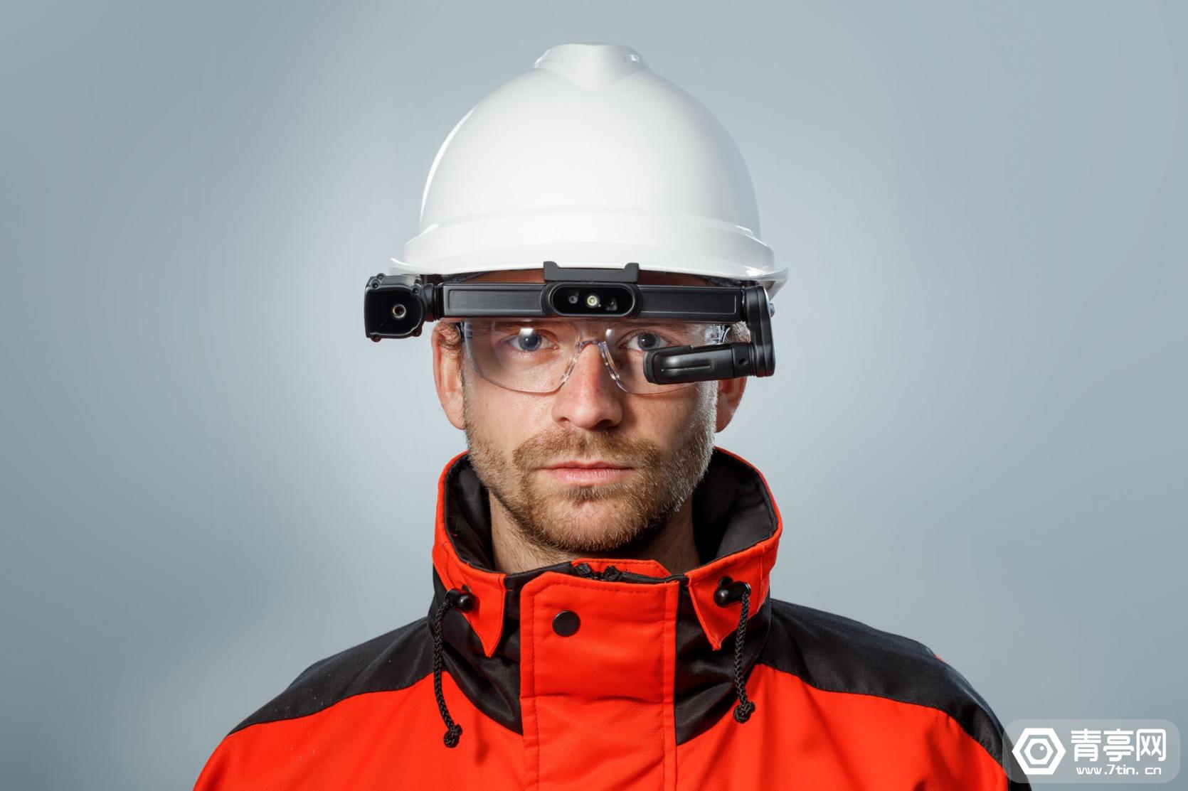Iristick推新工业AR眼镜Iristick.H1,可集成至安全帽
