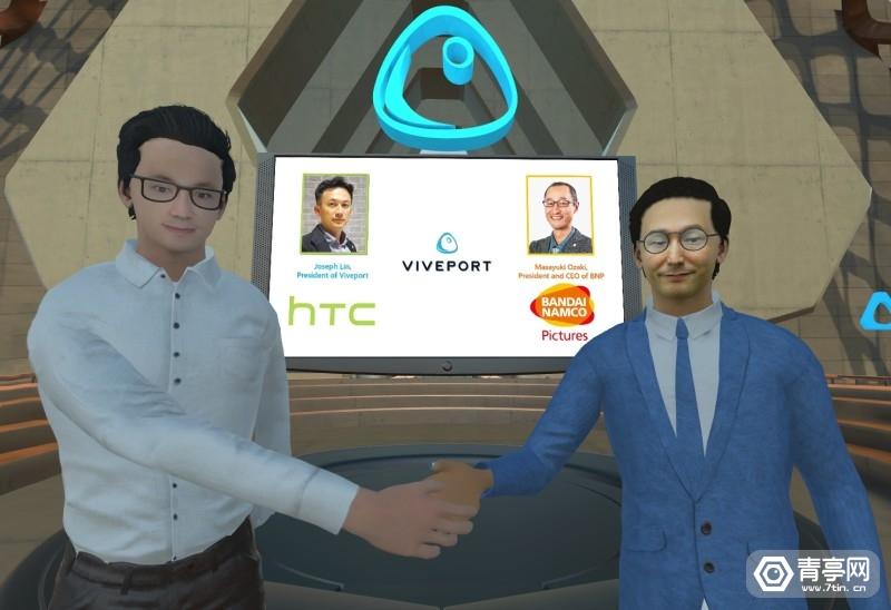 VIVEPORT 与万代南梦宫影业建立战略合作
