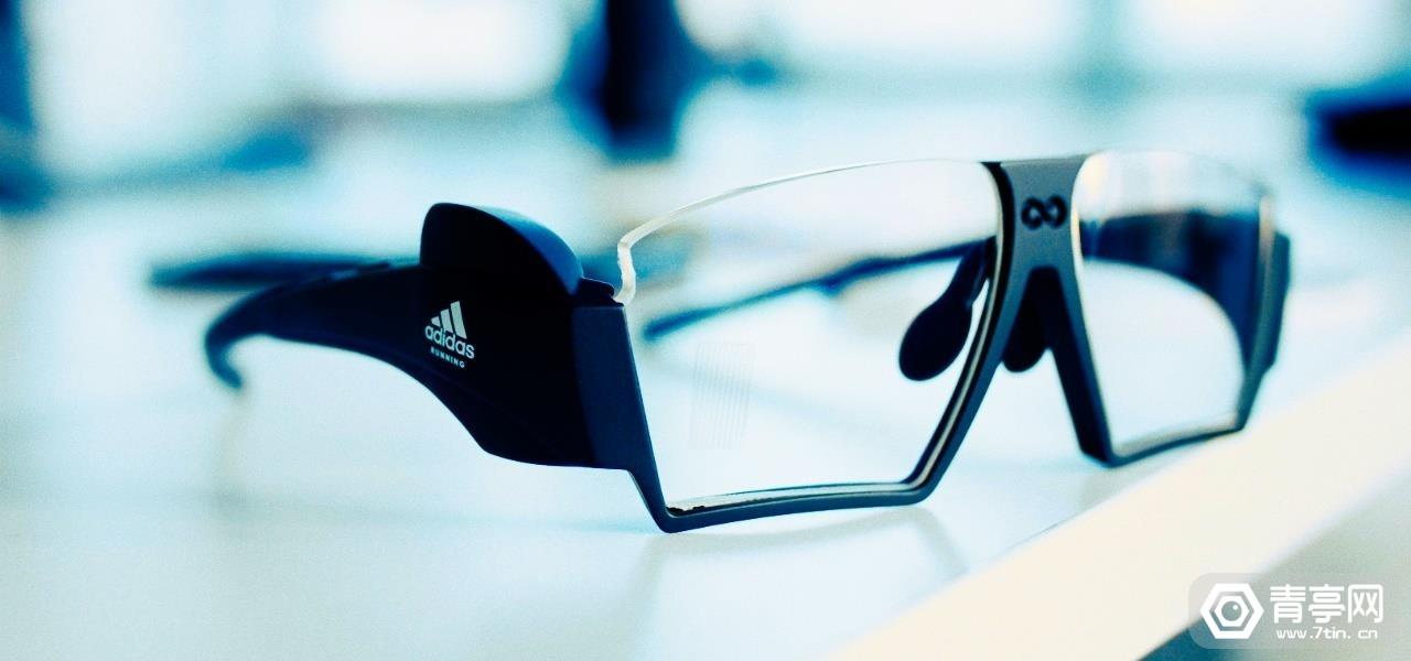 tooz展示阿迪达斯合作款AR眼镜,可实时追踪运动数据