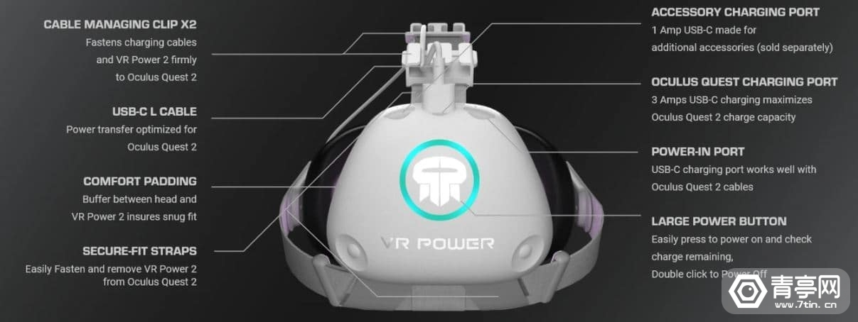 69.99美元、续航8-10小时,Rebuff Reality推二代VR电池模块