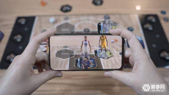 结合实体卡和桌游,NBA授权的AR集卡游戏《Flex NBA》来袭