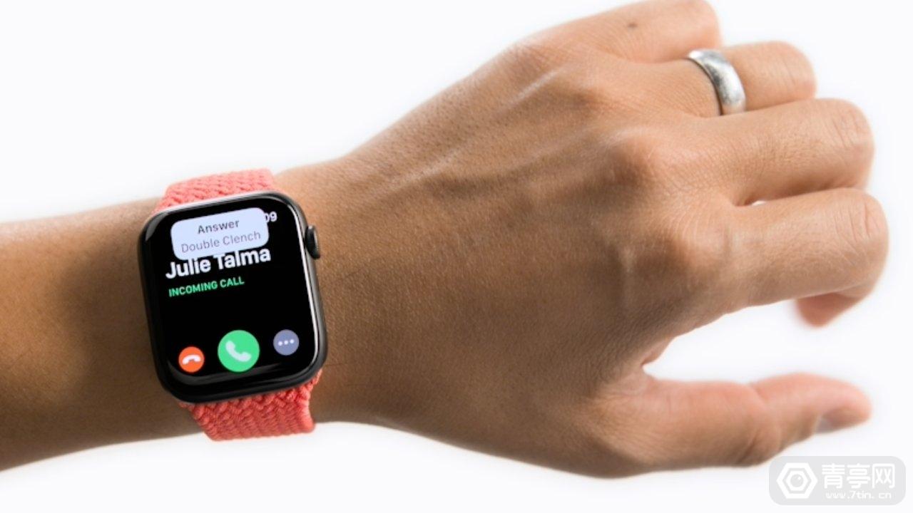 苹果专利:Apple Watch佩戴者可以用手势完成各种功能