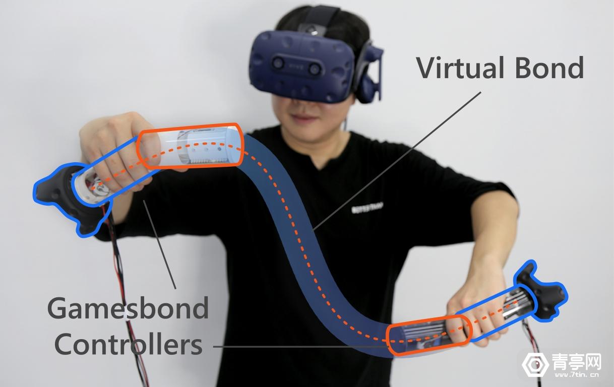 微软VR手柄研究:如何用两个独立的体感手柄模拟跳绳?