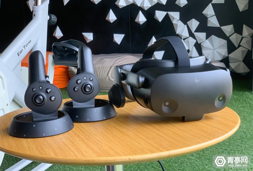 更强悍的商用VR头显,HP Reverb G2 Omnicept体验