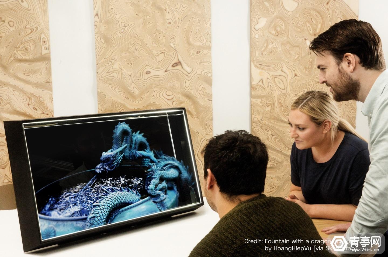 Looking Glass推出新一代4K和8K全息显示器产品