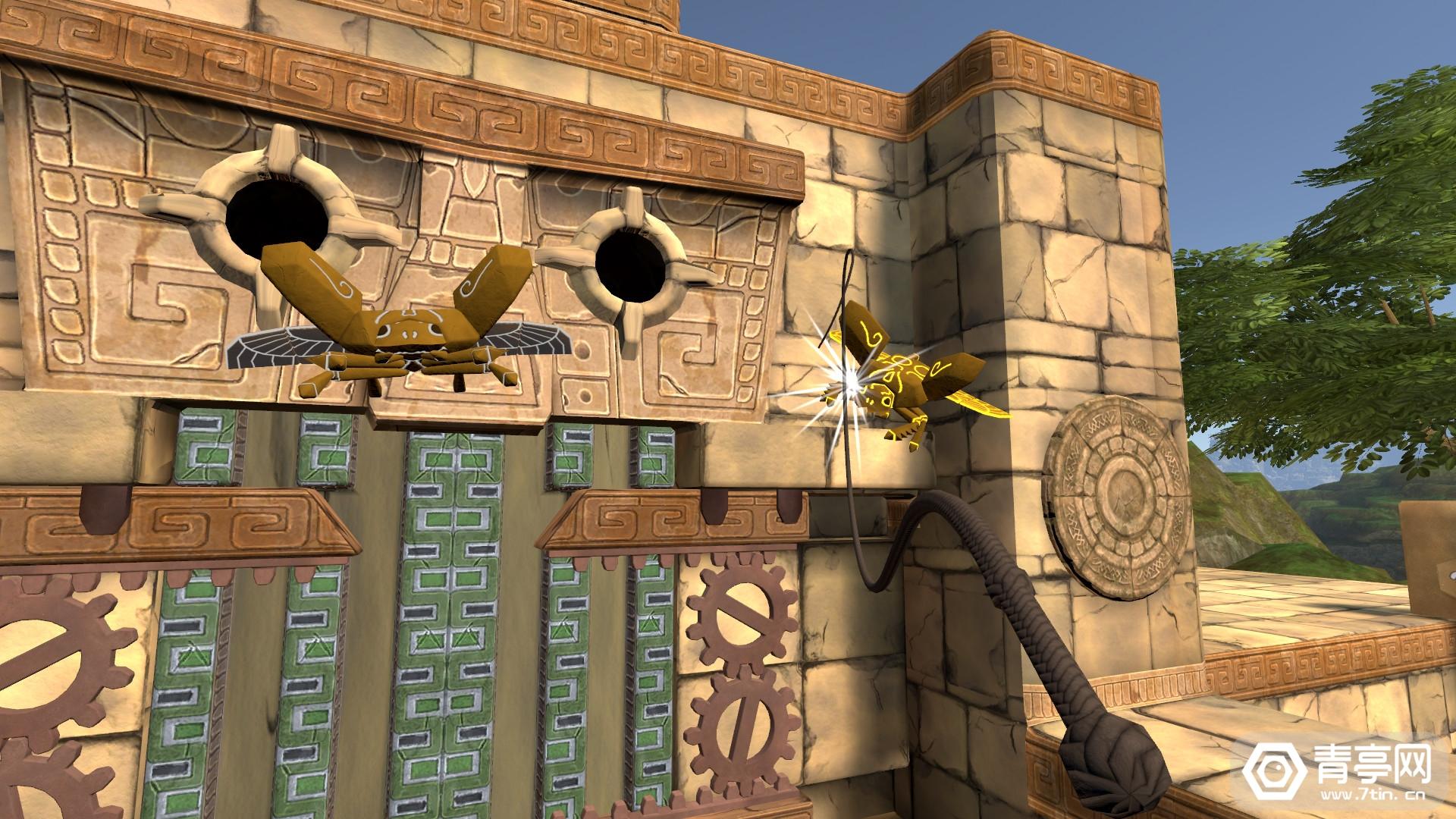 大空间冒险玩法,VR解谜游戏《Eye of the Temple》登陆Steam