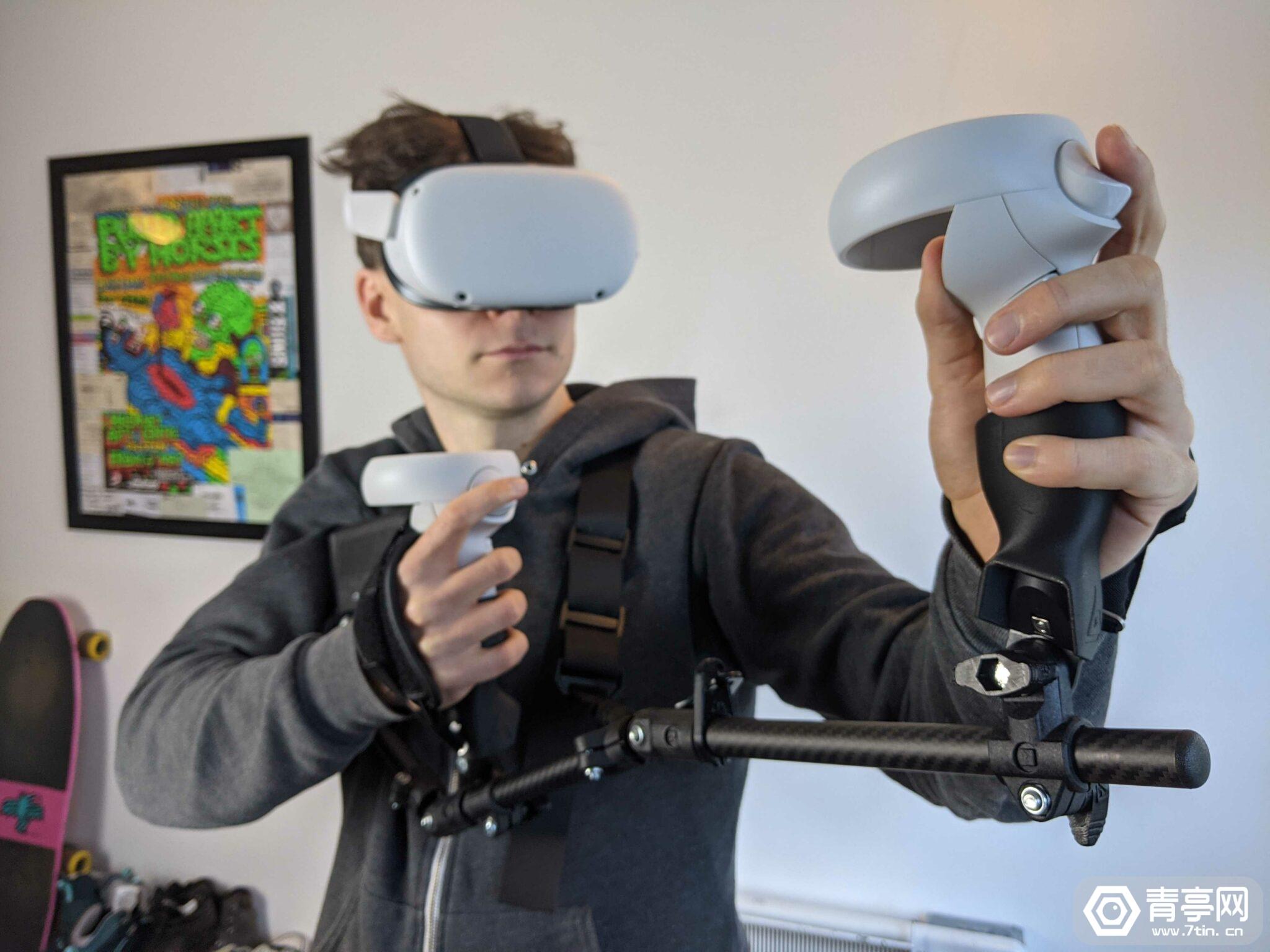 Forcetube测评:模拟射击后坐力,395欧元体感VR配件值不值